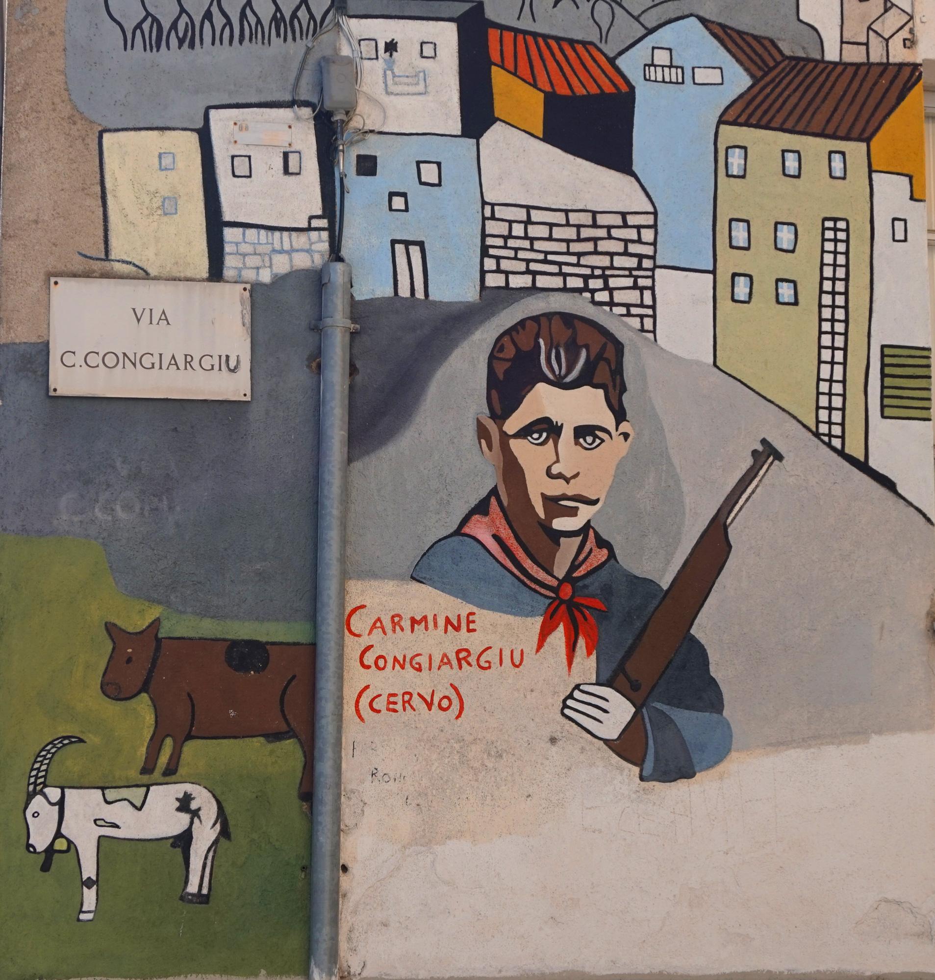 Murales in Orgosolo - Bilder