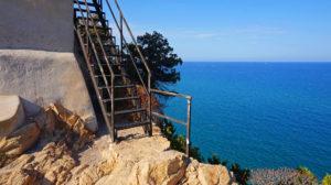 Stufen zum Torre Salinas