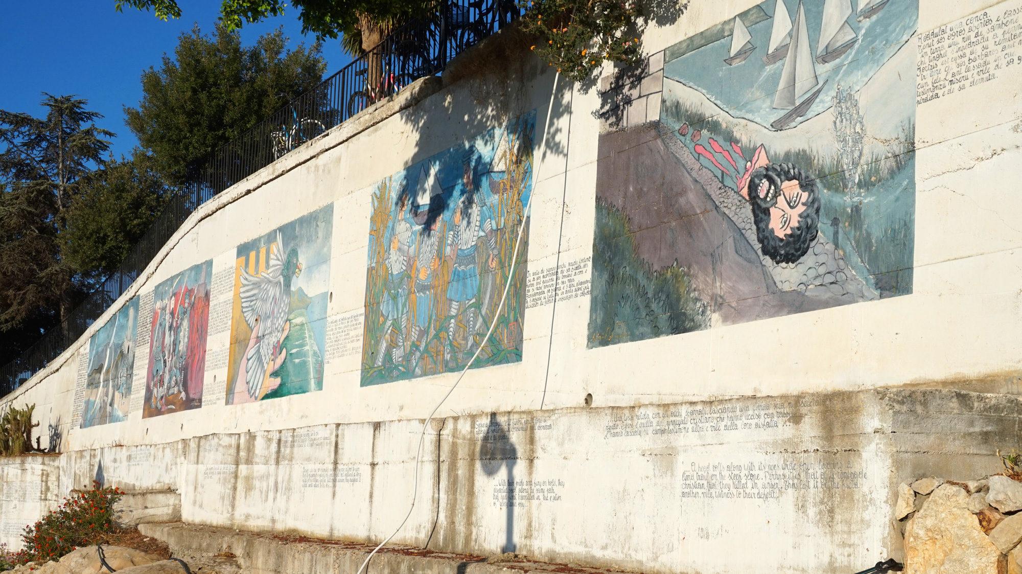 Die Geschichte der Saubohnenburg an den Mauern von Posada