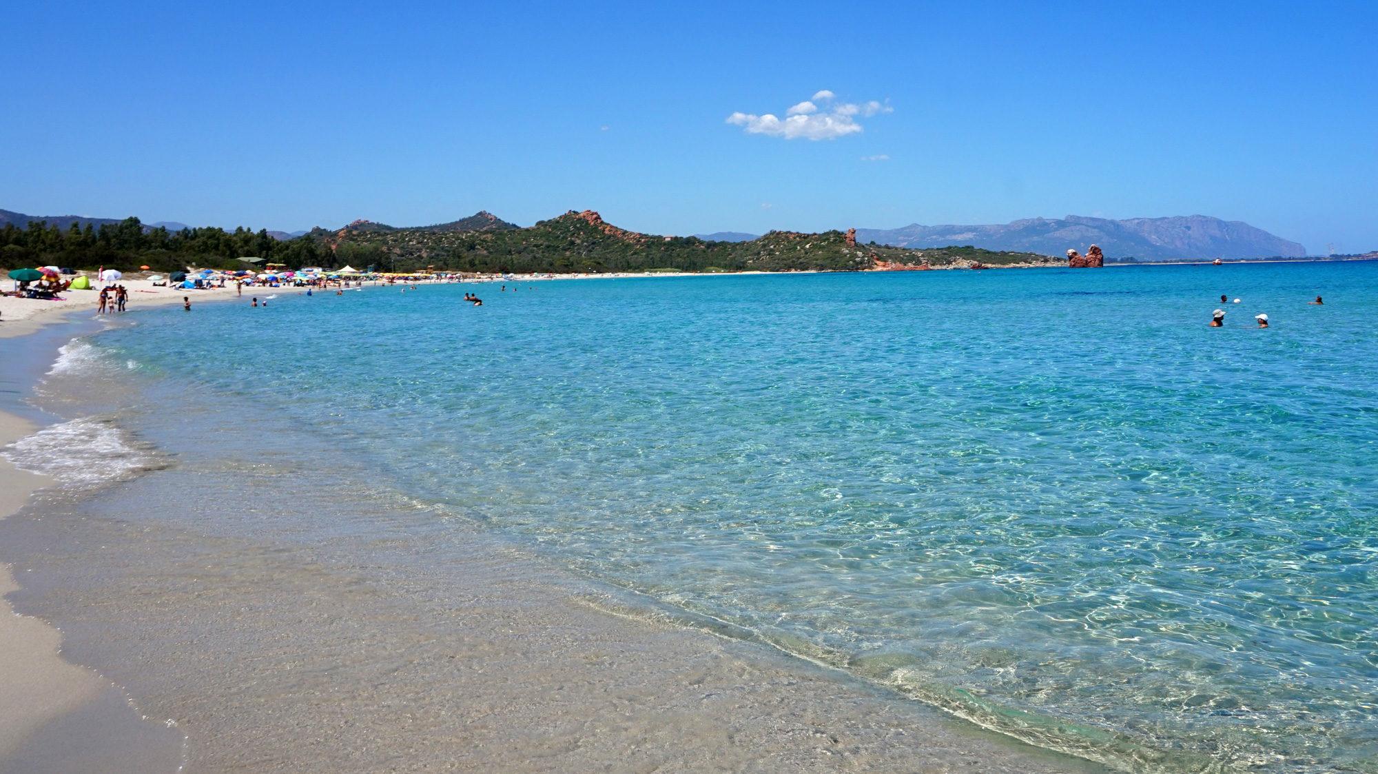 Der Strand von Cea