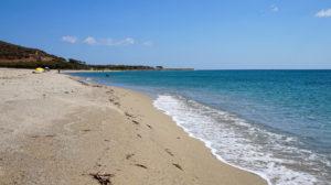 Am Strand von Posada