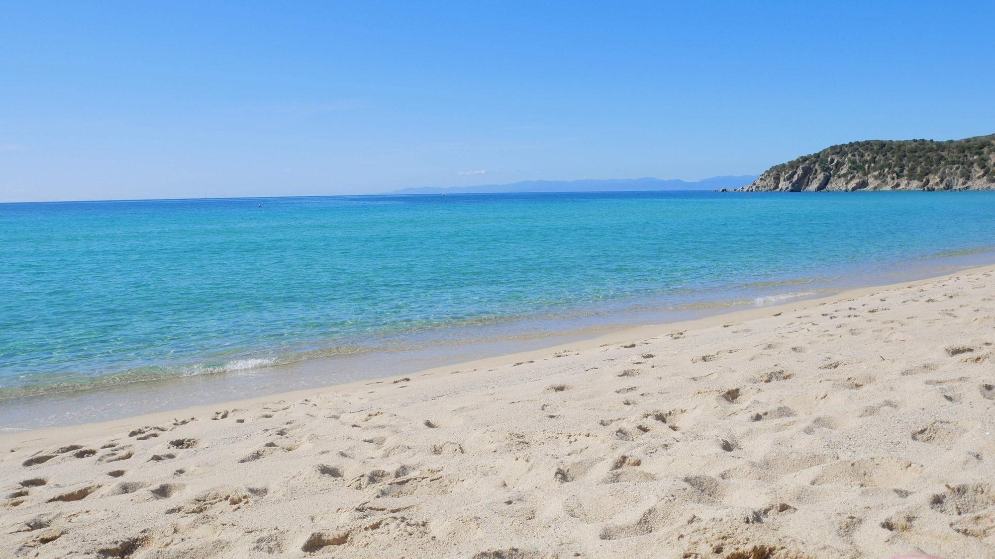 Der Strand von Solanas