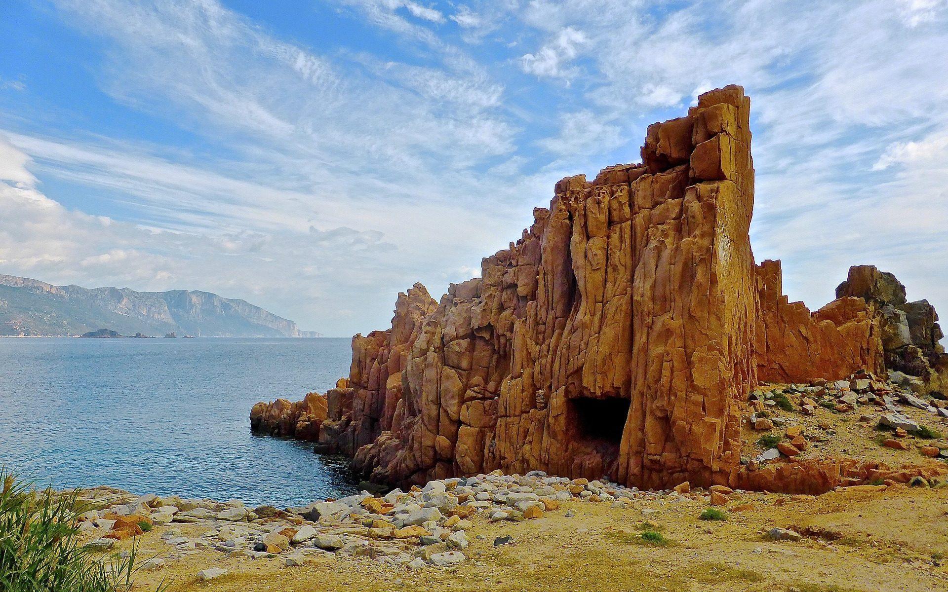 Rote Felsen bei Arbatax