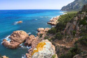Die Küste bei Arbatax