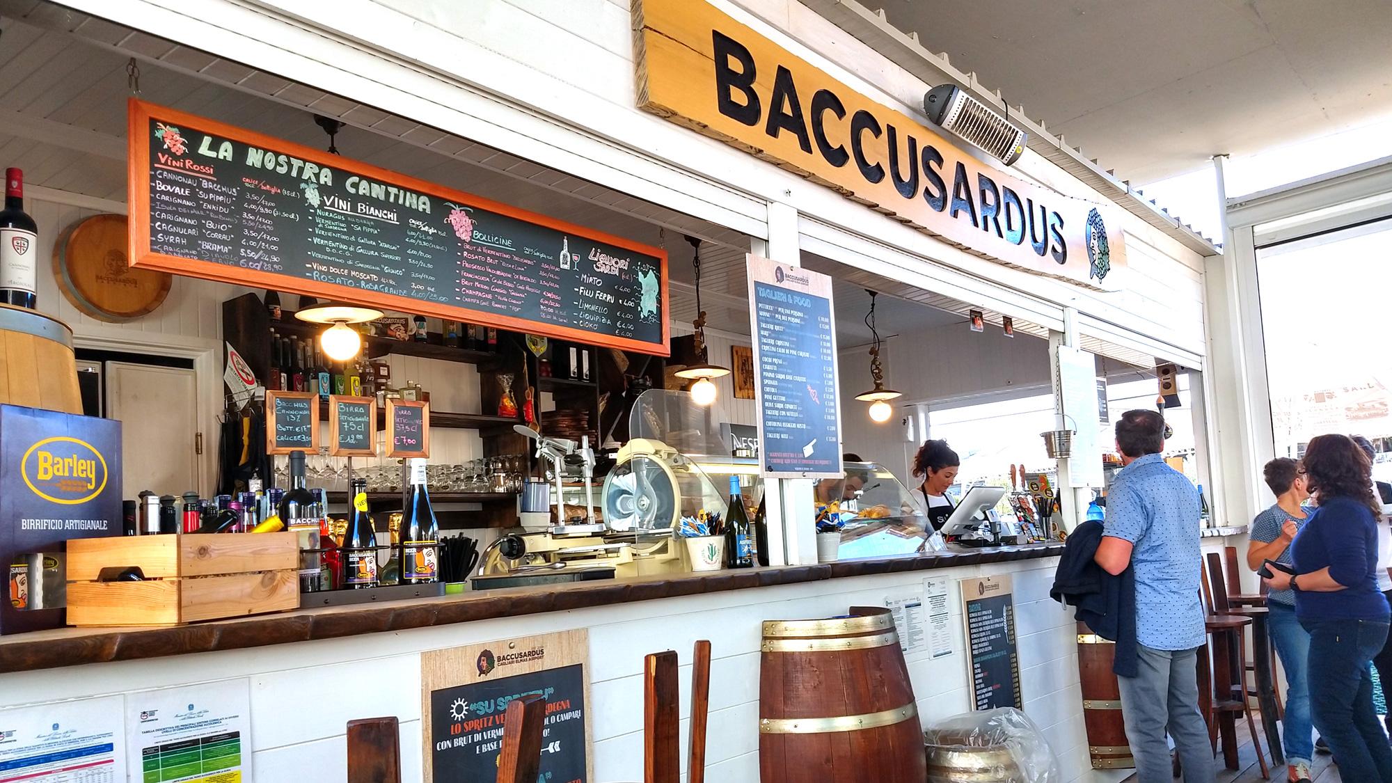Cagliari-Flughafen-Bar