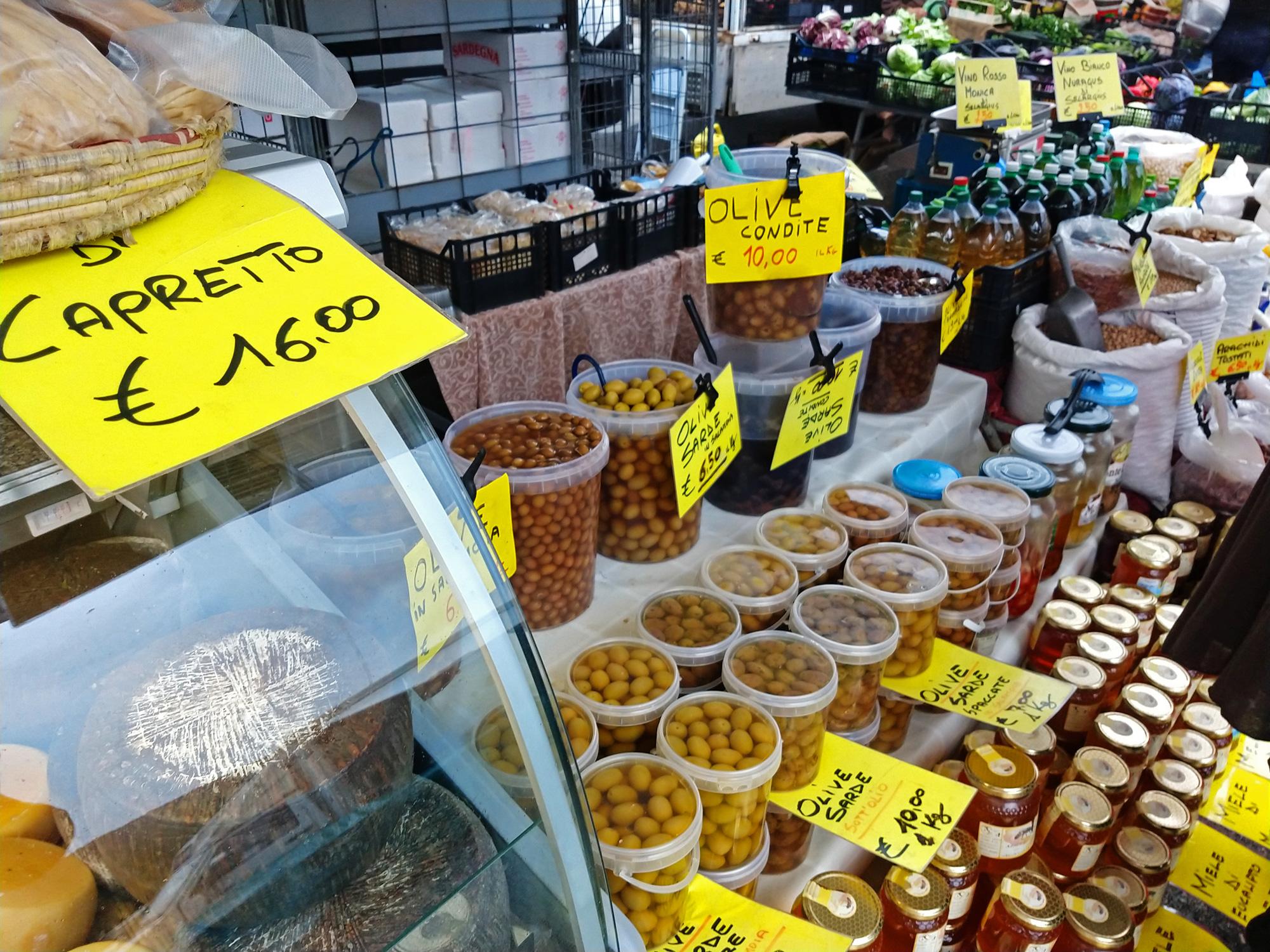 Markt in Teulada