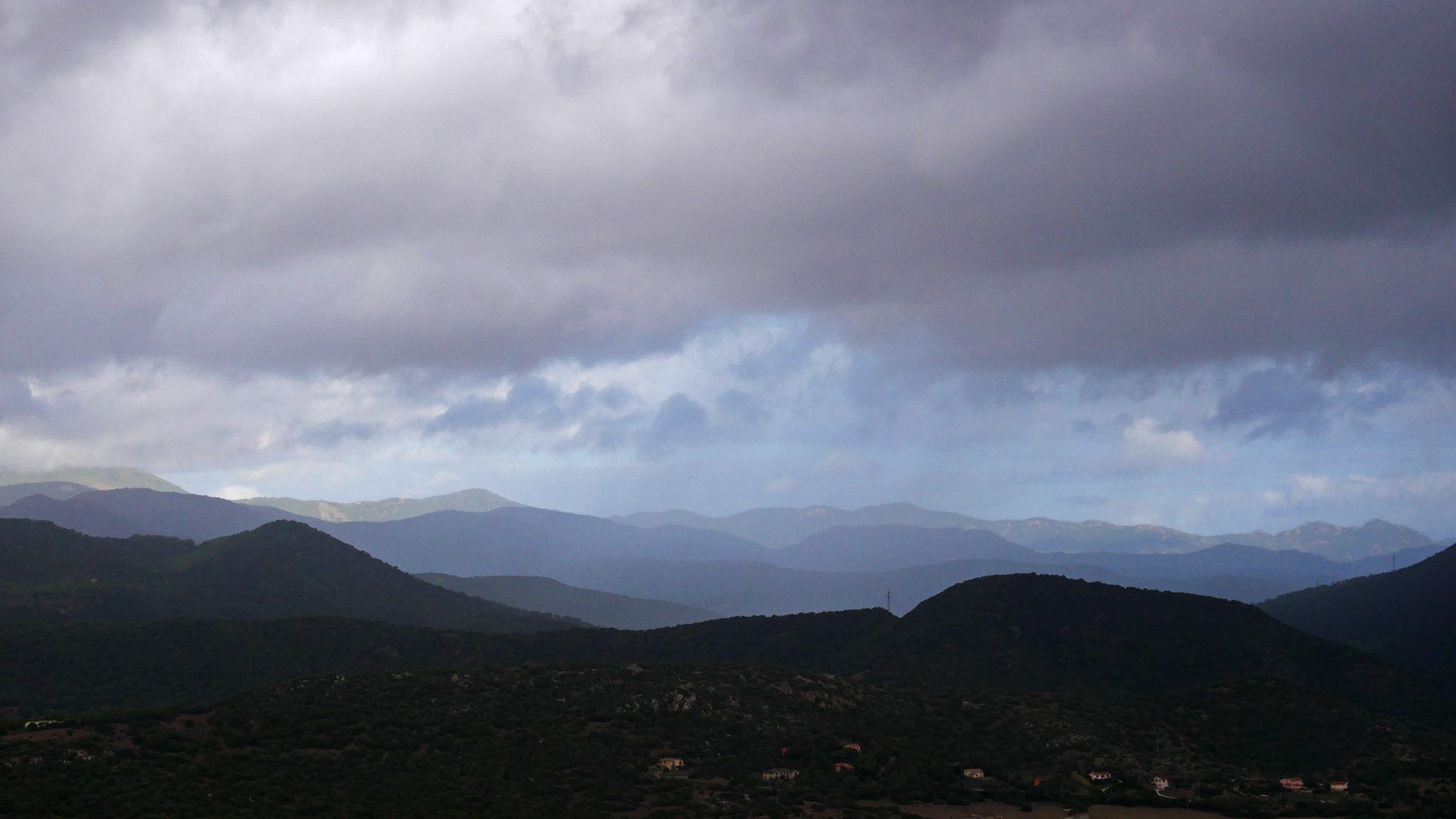 Aussicht vom Berg der Nuraghen