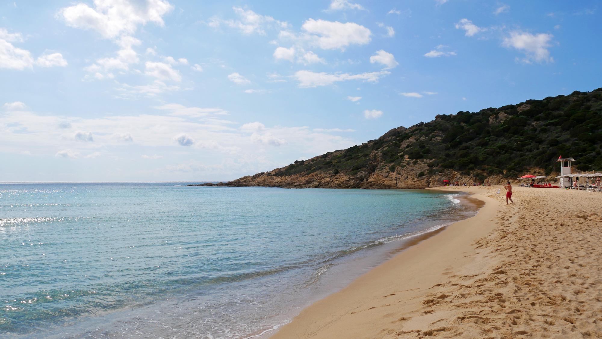 Blick zum Spiaggia Rosa