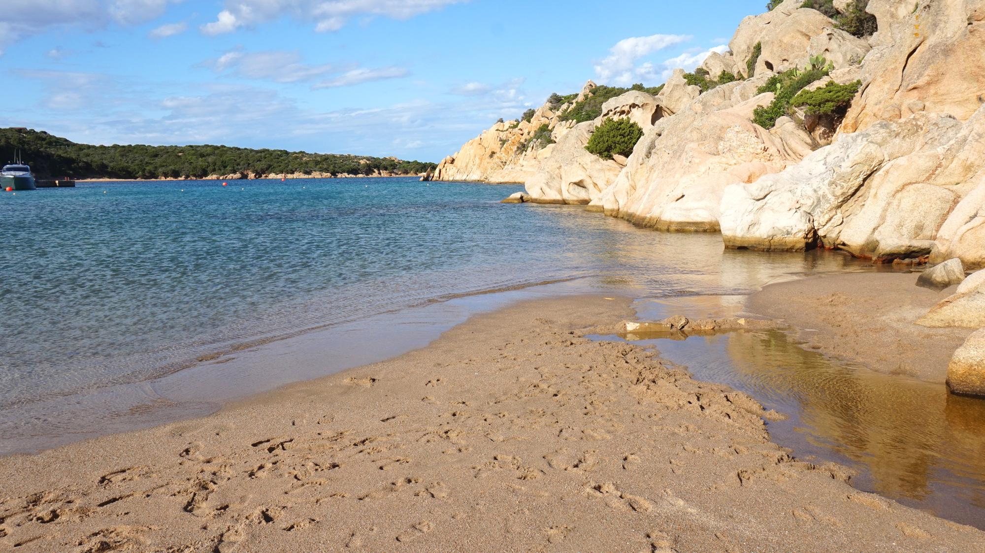 Cala Spalmatore auf La Maddalena