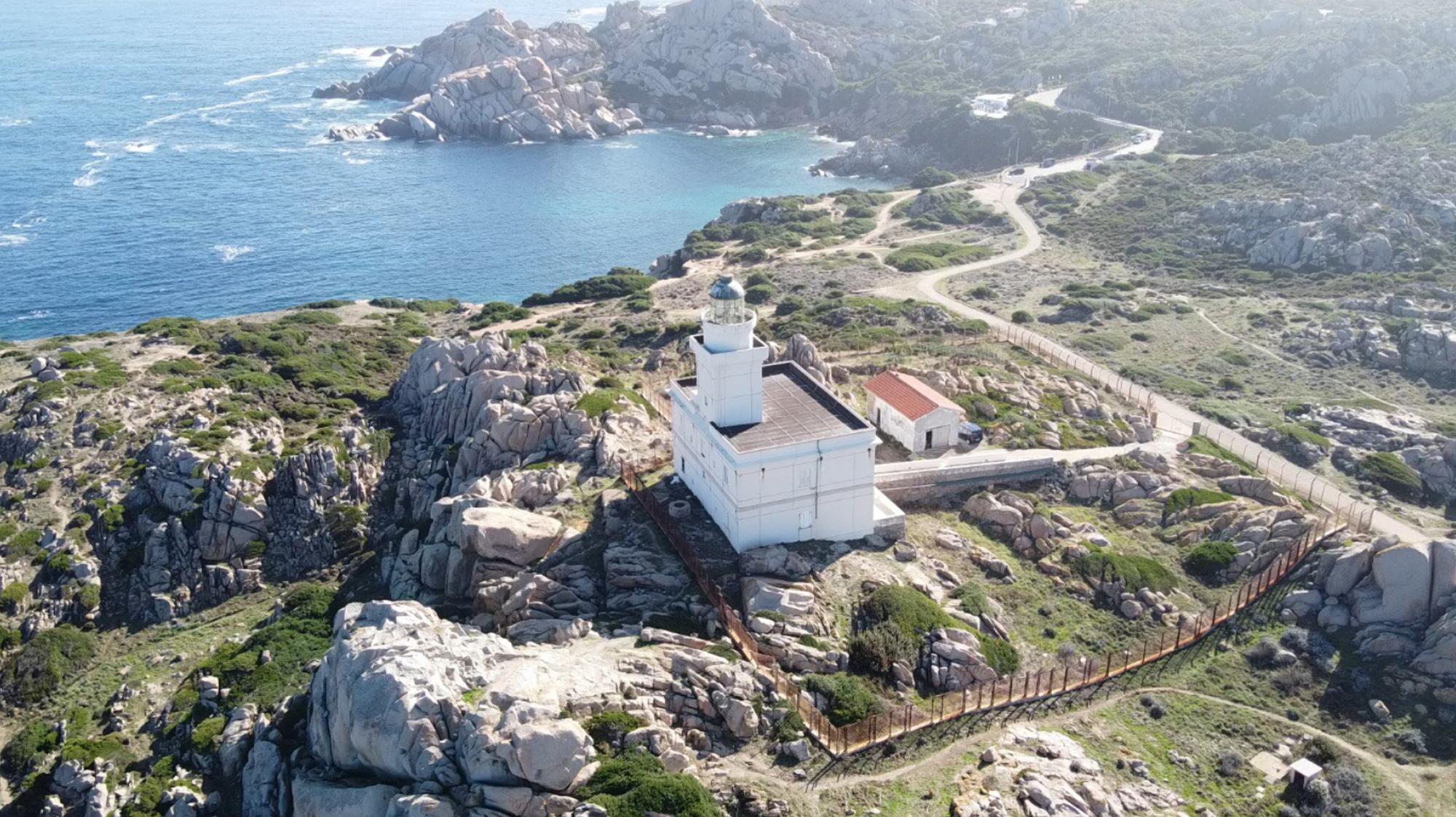 Leuchtturm des Capo Testa
