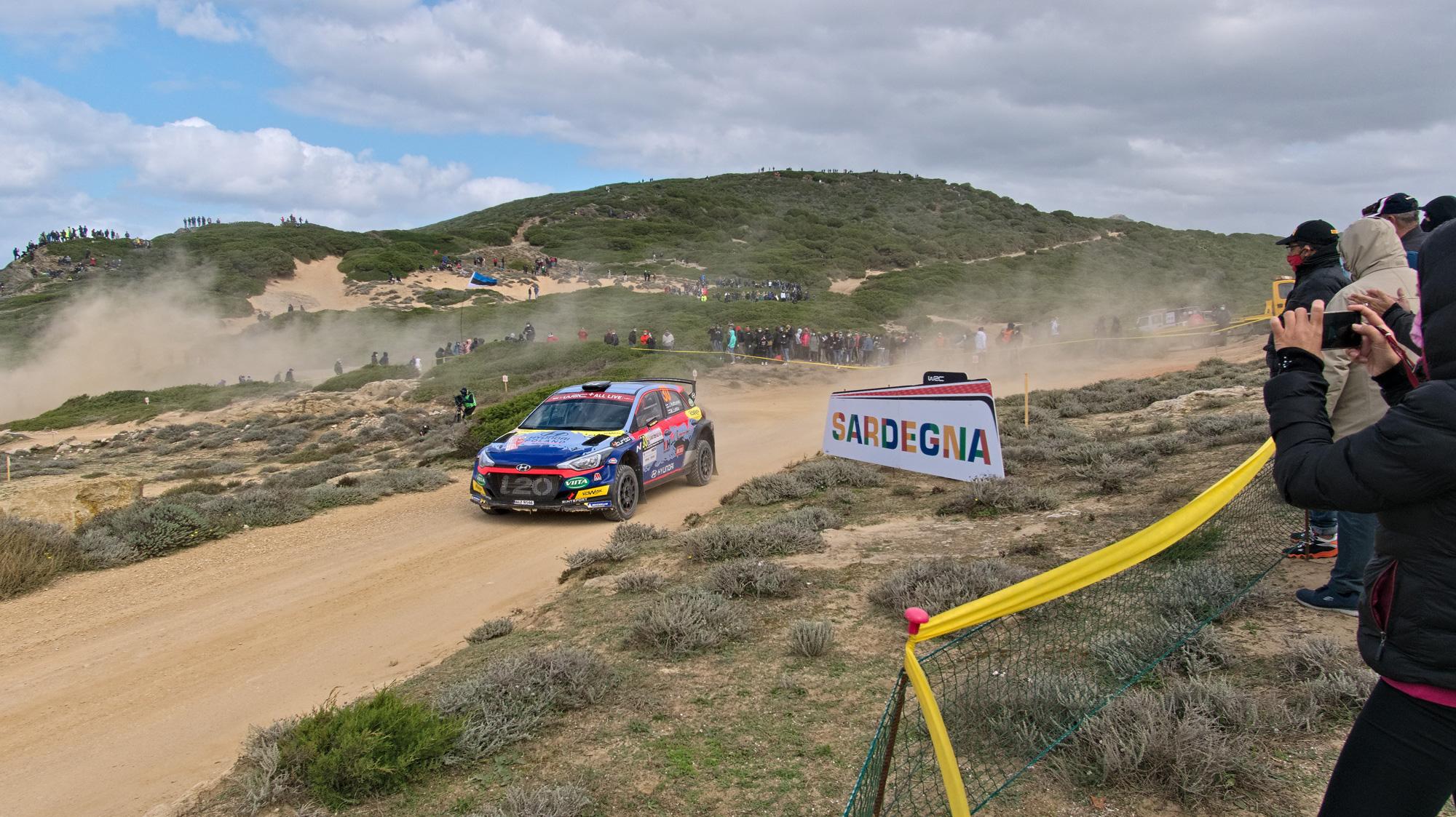 Auf der Zielgeraden: Rallye Sardegna