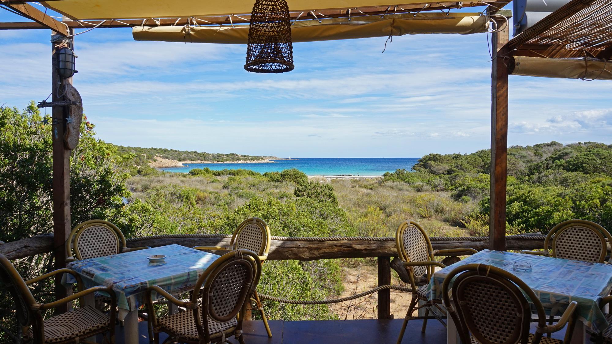 Mittagessen mit Meerblick: Ristobar Poldo Beach