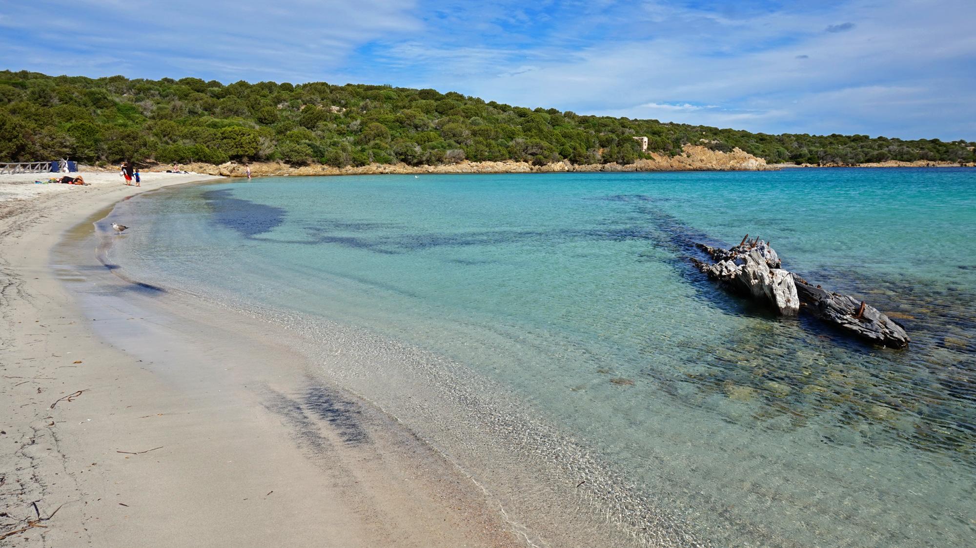 Spiaggia Relitto auf Caprera