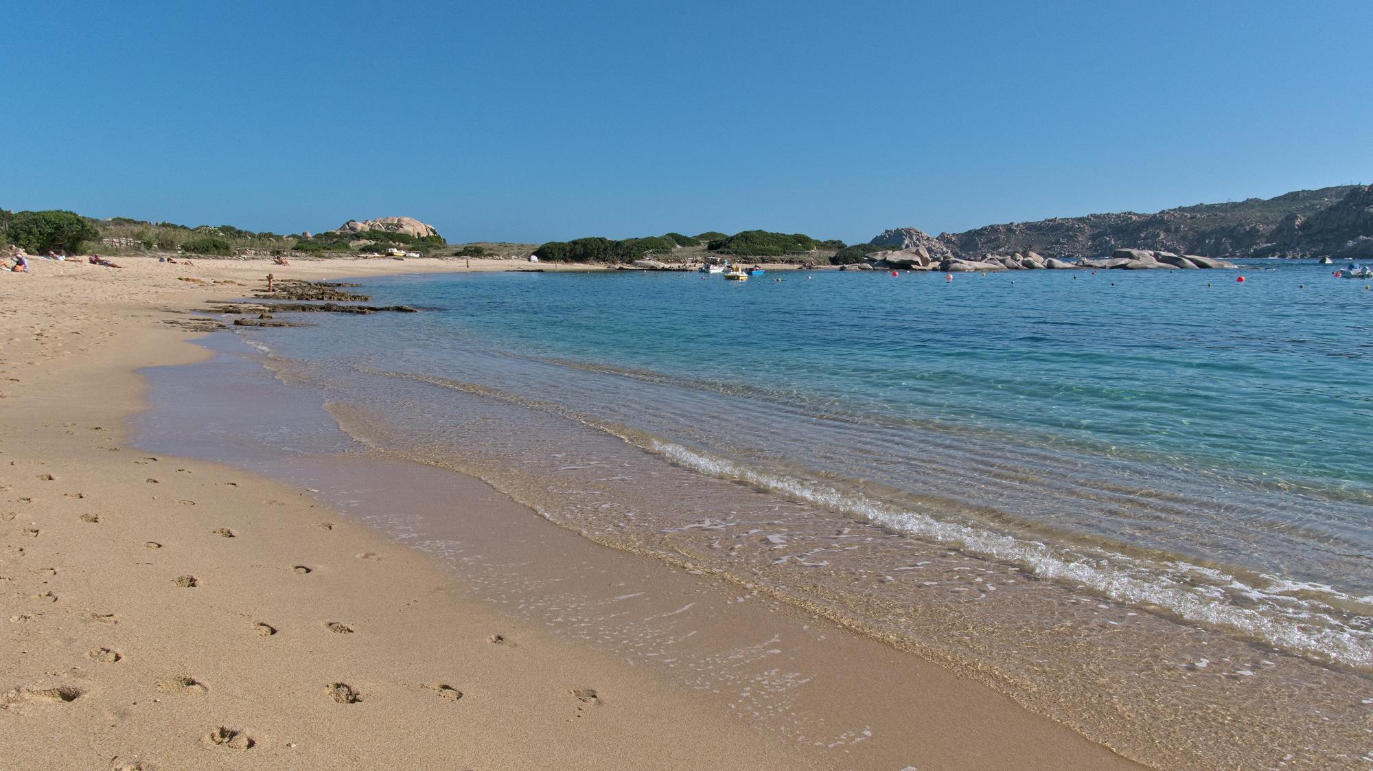 Spiaggia Zia Culumba - Schöner Sandstrand am Capo Testa