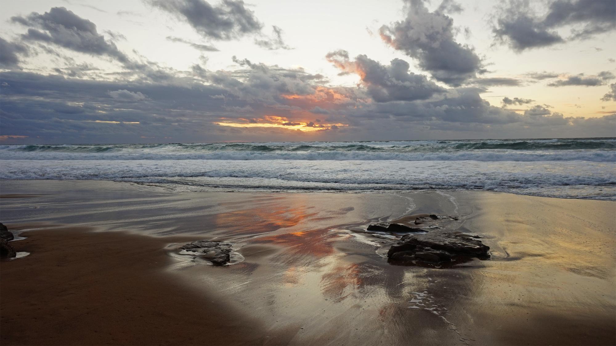 Sonnenuntergang am Porto Alaba