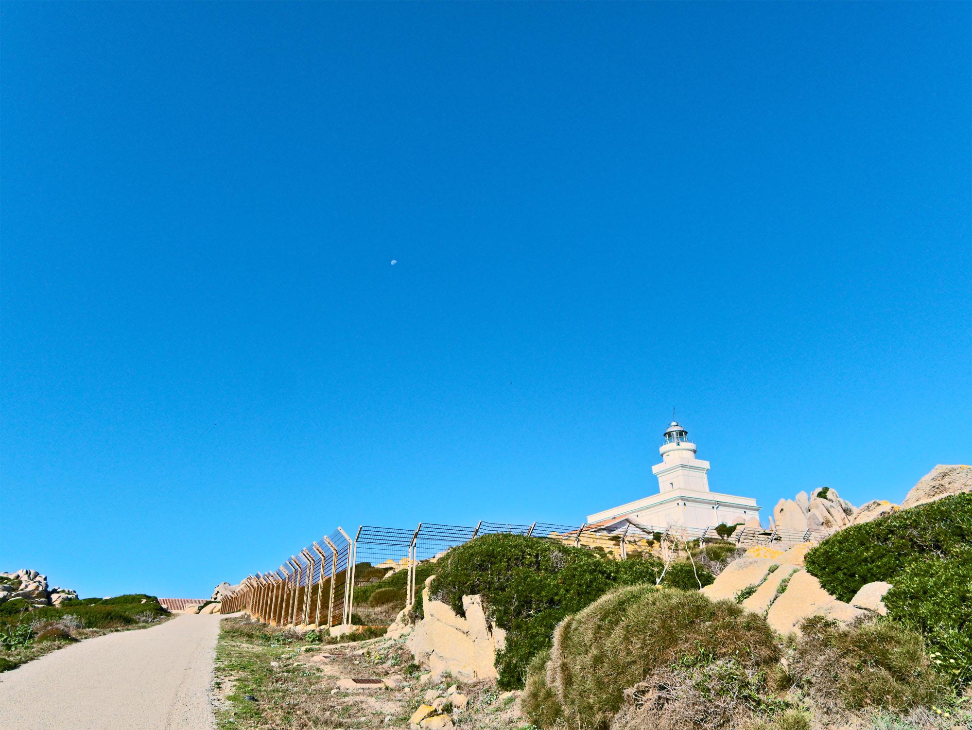 Leuchtturm: Faro di Capo Testa