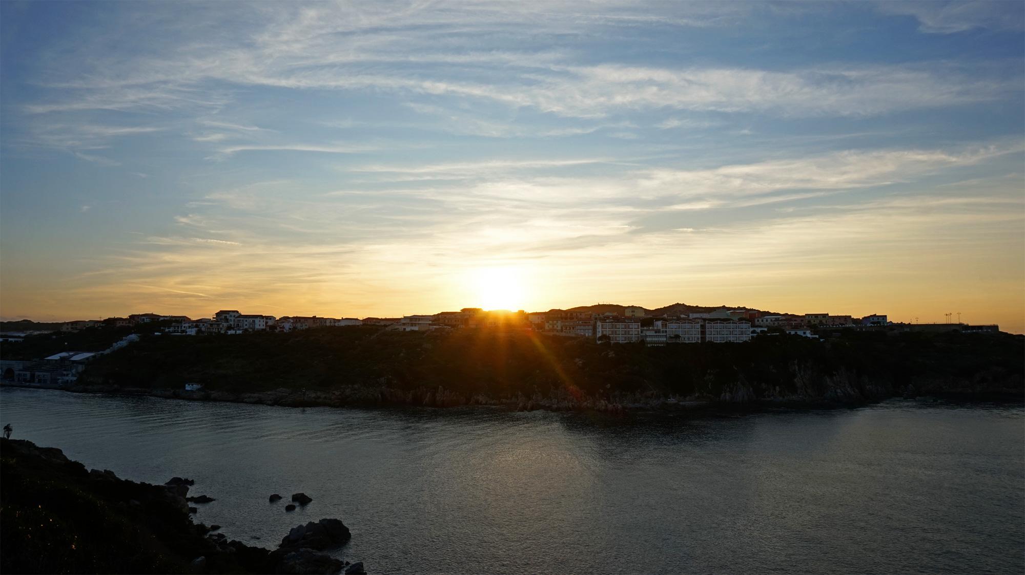 Santa Teresa Gallura in der Abendsonne