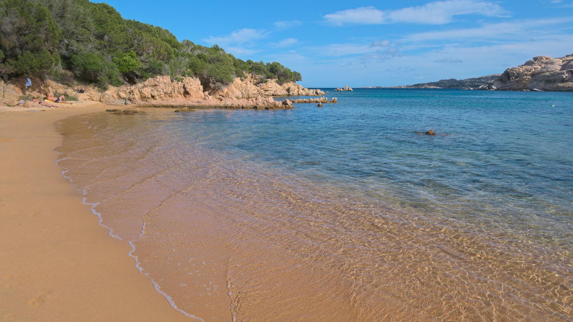 Spiaggia del Costone auf La Maddalena